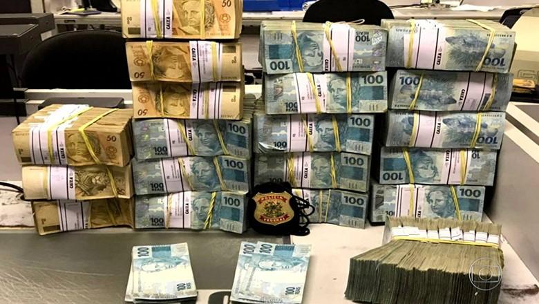 dinheiro-JBS-Fantástico (Foto: Reprodução/TV Globo)