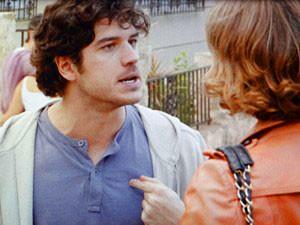 Bento termina tudo com Amora (Foto: Sangue Bom / TV Globo)