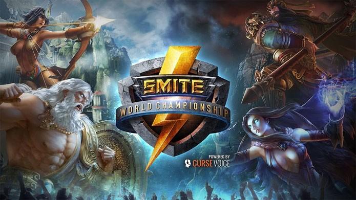 Torneio Mundial de Smite foi o primeiro do ano, em janeiro (Foto: Divulgação)