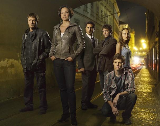 Os personagens de 'Missing - Busca Alucinante', série em 10 episódios que a Globo exibe a partir do dia 4 (Foto: Divulgação)