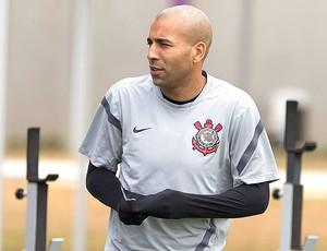 Emerson no treino do Corinthians (Foto: Daniel Augusto Jr. / Ag. Corinthians)