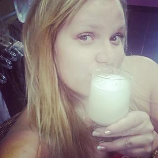 Paulinha e sua dieta líquida (Foto: Reprodução/Instagram)