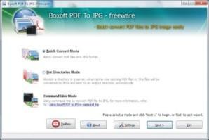 Boxoft PDF to JPG Converte
