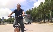 Motoristas de ônibus trocam de lugar com ciclistas em ação de conscientização no AM (Jornal do Amazonas)