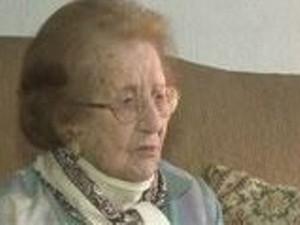 idosa de 112 anos dona alida (Foto: Reprodução/RBS TV)