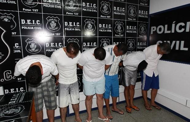 Quadrilha é presa ao tentar aplicar golpe de R$ 109 mi em banco de GOiânia, Goiás (Foto: Zuhair Mohamad/O Popular)