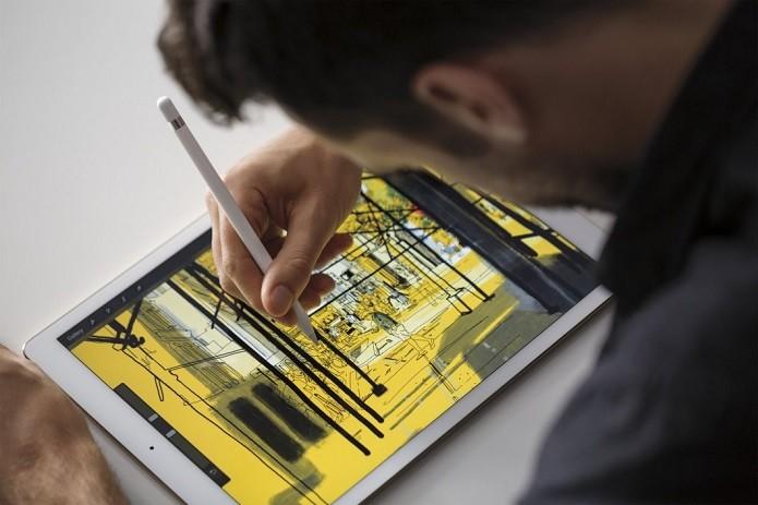 Tela do iPad Pro é ligeiramente melhor (Foto: Divulgação/Apple)