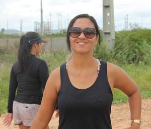Dôra Otsuka comemora aniversário caminhando 25 KM (Foto: Henrique Almeida)