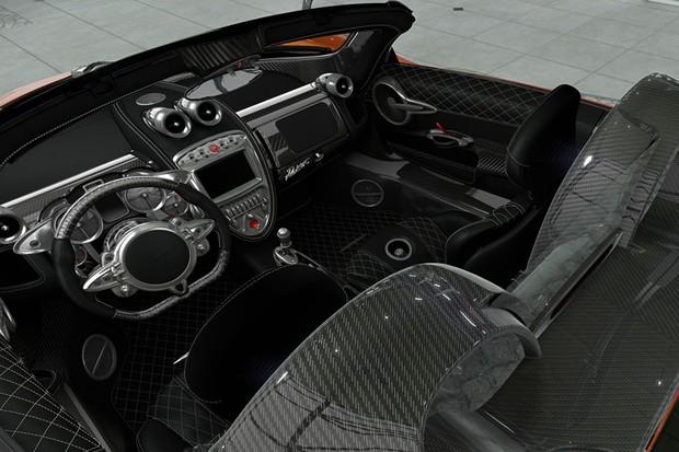 Pagani Huayra Roadster ganha configurador online (Foto: Reprodução)