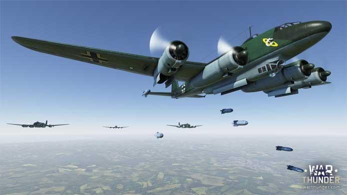War Thunder tem aviões da Segunda Guerra (Foto: Divulgação/Gaijin Entertainment)