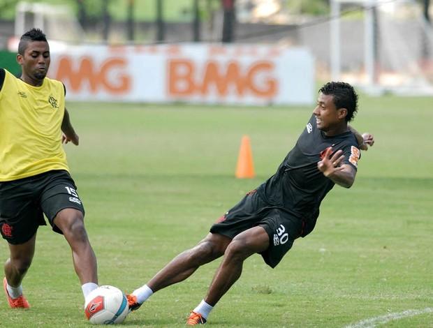 Treino do Flamengo (Foto: Alexandre Durão / Globoesporte.com)