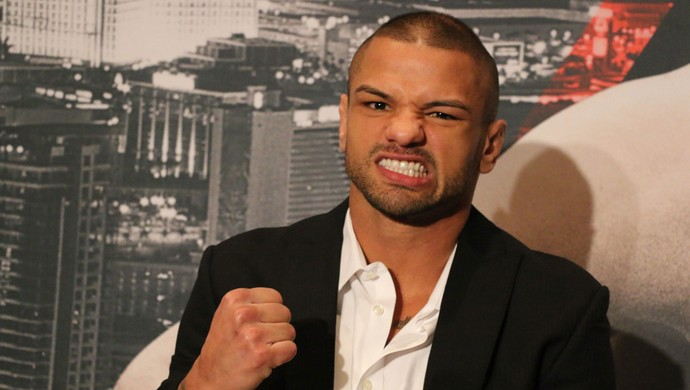 Thiago Pitbull, MMA (Foto: Evelyn Rodrigues)