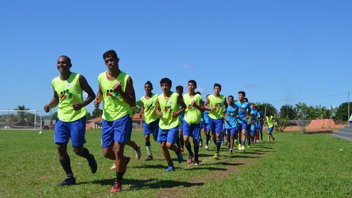 Rolim enfrenta Pimentense pela quarta rodada do Rondoniense Sub-20 (Foto: Paula Casagrande)