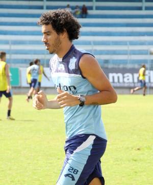 Diego Sales, meia do Marília (Foto: Eduardo Marques / Diário de Marília)