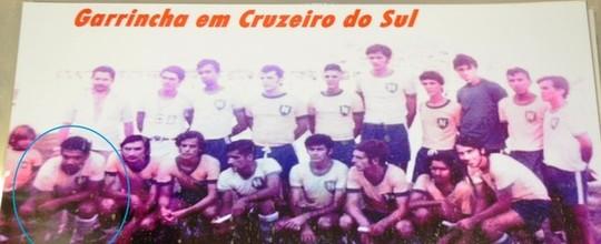 Álbum no interior do AC tem fotos inéditas de Garrincha (Adelcimar Carvalho)