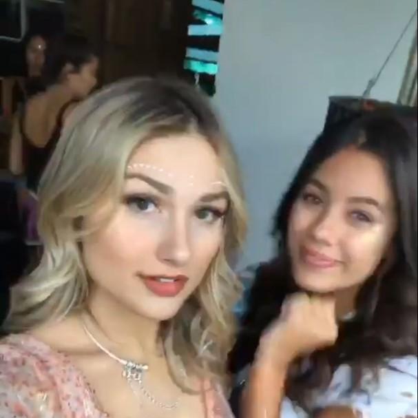 Sasha Meneghel e amiga (Foto: Instagram/Reprodução)