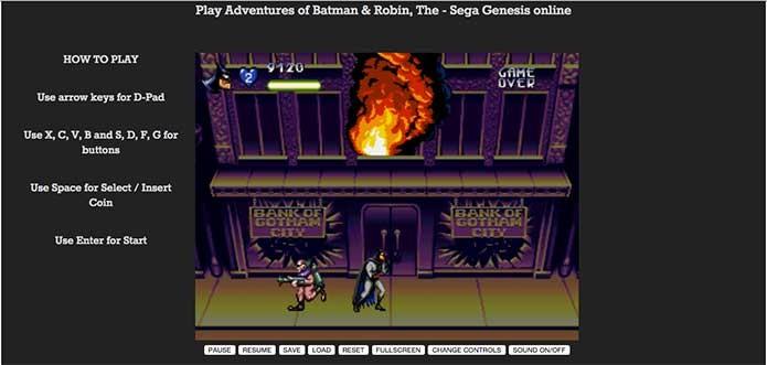 O game va rodar normalmente, basta seguir os controles na tela (Foto: Reprodução/Felipe Vinha)