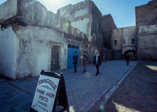 Site: Mellah (The Jewish Quarter of Essaouira)Country: MoroccoCaption: Road to Synagogue Haim PintoDate: 21.01.2017Photographer: Mr. Amine Bennour (Foto: Divulgação)