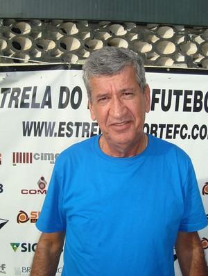 Dário Lourenço foi apresentado como novo técnico do Estrela do Norte (Foto: Divulgação/Estrela do Norte)