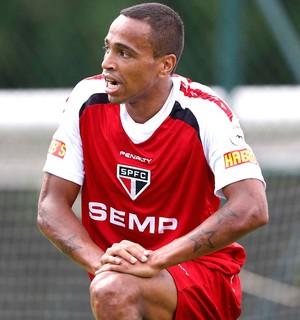 Treino São Paulo Alvaro Pereira (Foto: Marcos Ribolli)