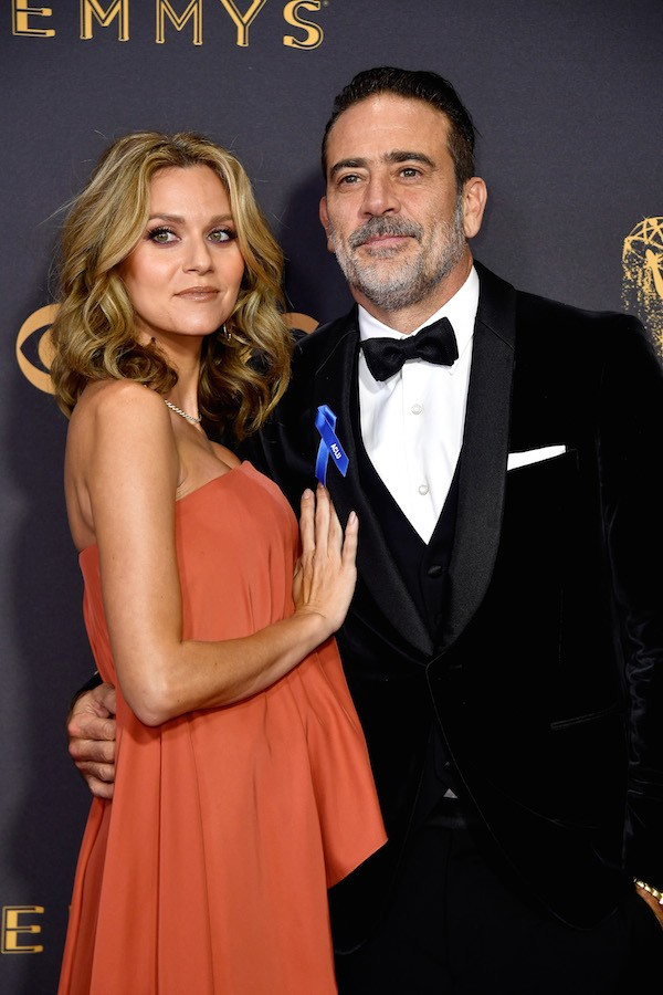 O ator Jeffrey Dean Morgan e a atriz Hilarie Burton (Foto: Getty Images)
