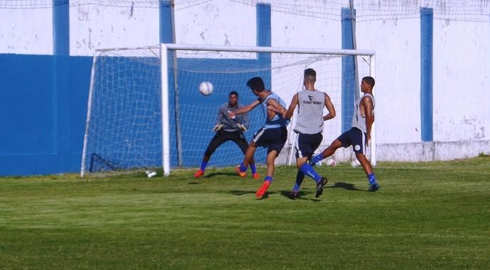 confiança, confiança sub-20, treino, sabino ribeiro, copa são paulo (Foto: Divulgação / ADC)