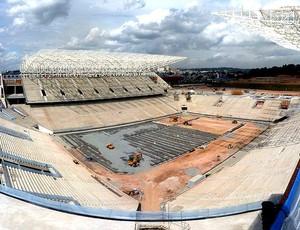 obras estádio Arena Corinthians Copa (Foto: Arena / Fifa.com)