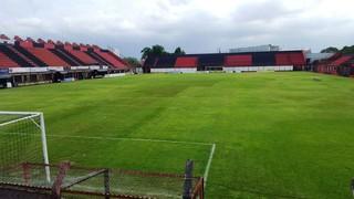 Estádio Antônio Soares de Oliveira, em Guarulhos (SP) (Foto: Arnaldo Moreira/Arquivo Pessoal)