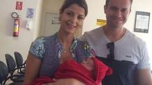 Thais Freitas comemora nascimento de seu segundo filho (Arquivo Pessoal)