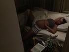 Rodrigão mostra momento íntimo da ex-BBB Adriana, que está grávida