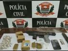 Servidor público é preso com drogas  e metralhadora italiana em Piracicaba