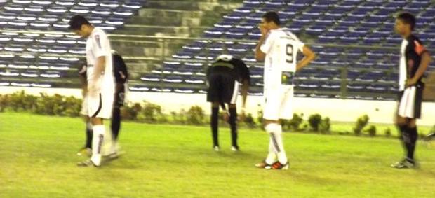 Treze 1 x 1 Botafogo-PB (no Estádio Amigão, pela Copa Paraíba) (Foto: Silas Batista / Globoesporte.com/pb)
