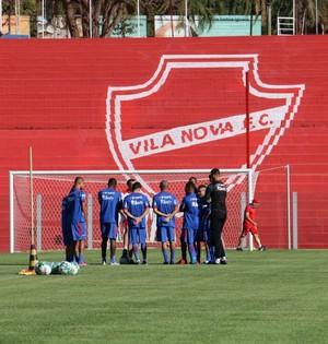 Vila Nova - treino - Onésio Brasileiro Alvarenga - OBA (Foto: Comunicação / Vila Nova)