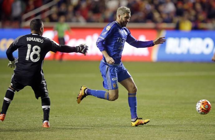 Andre Gignac  Real Salt Lake x Tigres - AP (Foto: AP)