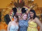 Ex-BBBs 'plus size': Paulinha encontra Mayara e Analice