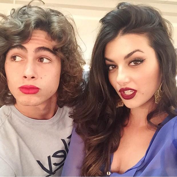 Rafael Vitti e Anaju Dorigon (Foto: Instagram / Reprodução)