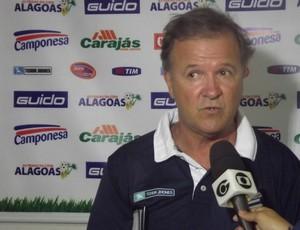 Beto Almeida, treinador do CSA (Foto: Caio Lorena / Globoesporte.com)
