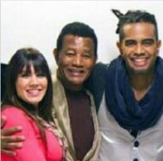 Simony com Jair Rodrigues e Jairzinho (Foto: Reprodução/Instagram)
