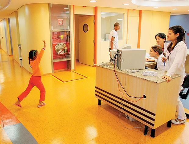 O QUE IMPORTA Unidade de pediatria do Instituto do Coração, em São Paulo. A saúde é o tema mais importante para o brasileiro  (Foto: Eduardo Knapp/Folhapress)