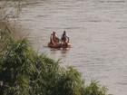 Bombeiros localizam corpo de jovem em rio  (Reprodução / TV TEM)