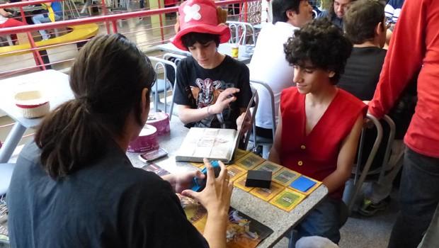 Diversas tribos circularam no Megacon, como a galera dos jogos de carta (Foto: Divulgação/RPC TV)