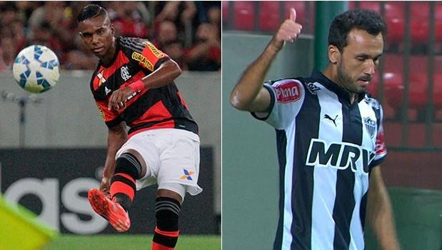 Flamengo enfrenta o Atlético-MG na tarde deste sábado (20) (Foto: Divulgação)
