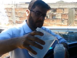 Carlos Alexandre Vieira, químico (Foto: Ricardo Welbert/G1)