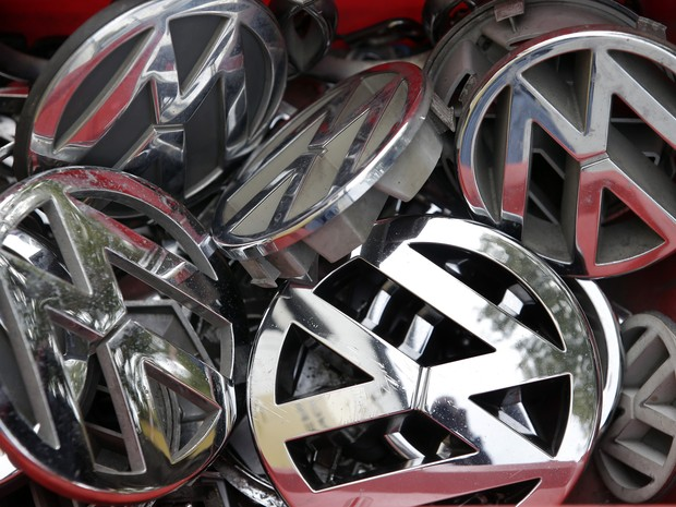 Volkswagen Logo (Foto: AP Photo/Michael Sohn)