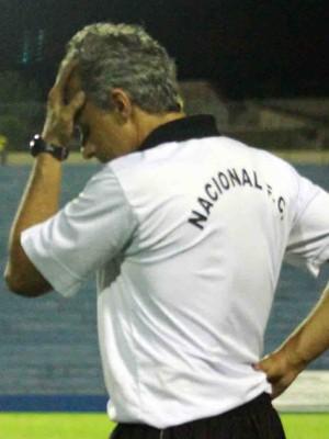 Jordan de Freitas, técnico do Nacional de Uberaba (Foto: Enerson Cleiton)