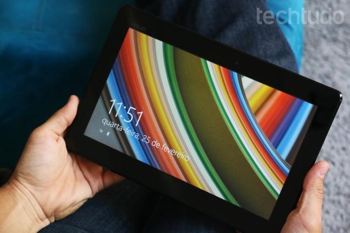 Notebook da Asus tem preço mais econômico do que concorrente (Foto: Luciana Maline/TechTudo)