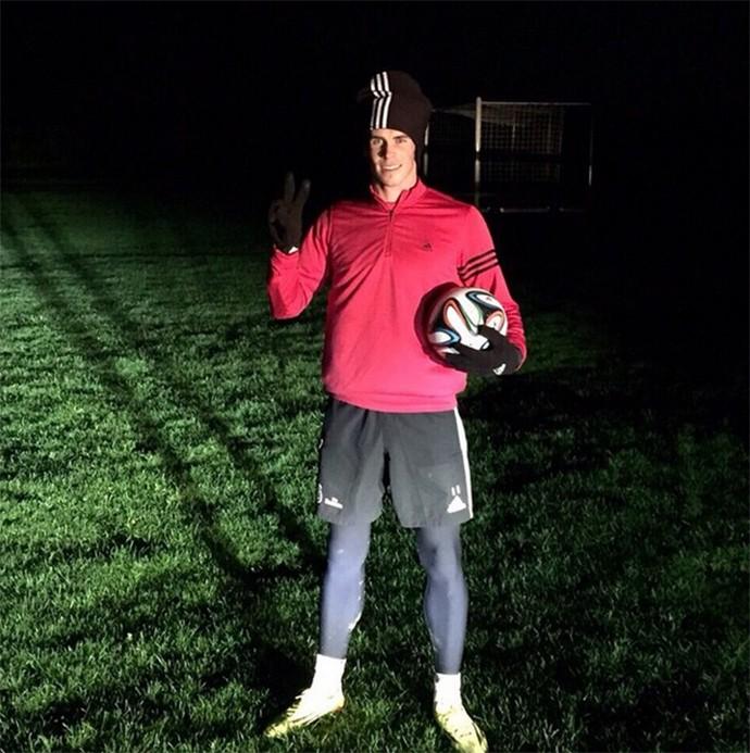Bale treino a noite
