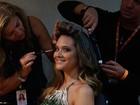 #Globo50! Juliana Paiva aproveita para tietar: 'Quero foto com Tony Ramos'