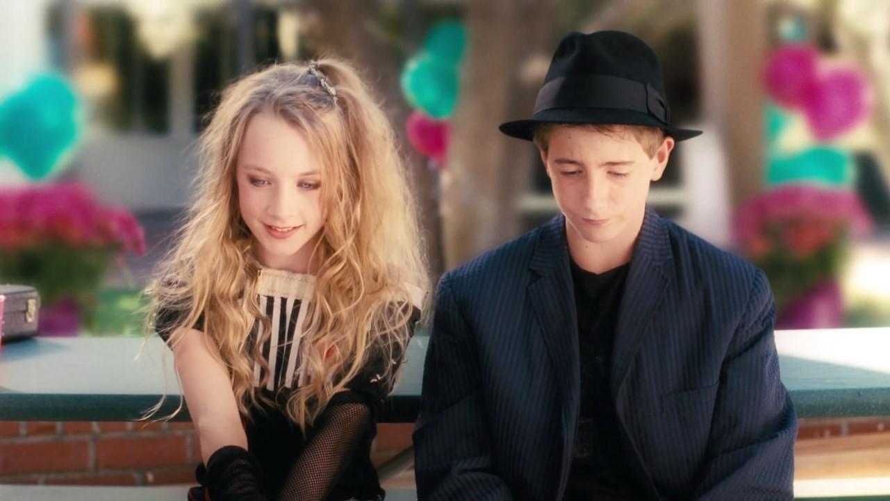 Saoirse Ronan e Rory Copus como Izzie e Dylan em 'Nunca é Tarde Para Amar' (2007) (Foto: Reprodução)