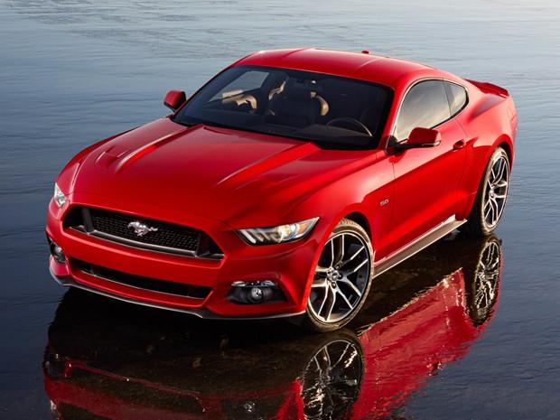 Novo Mustang, que será lançado nesta quinta-feira (5) (Foto: Divulgação)